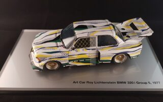 Bmw Lichtenstein art car modelle 1/18