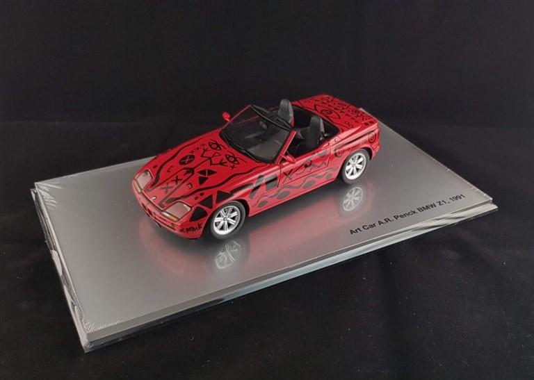 Ar. Penck Bmw z1 art car