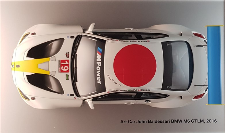 Bmw M6 John Baldessari art car