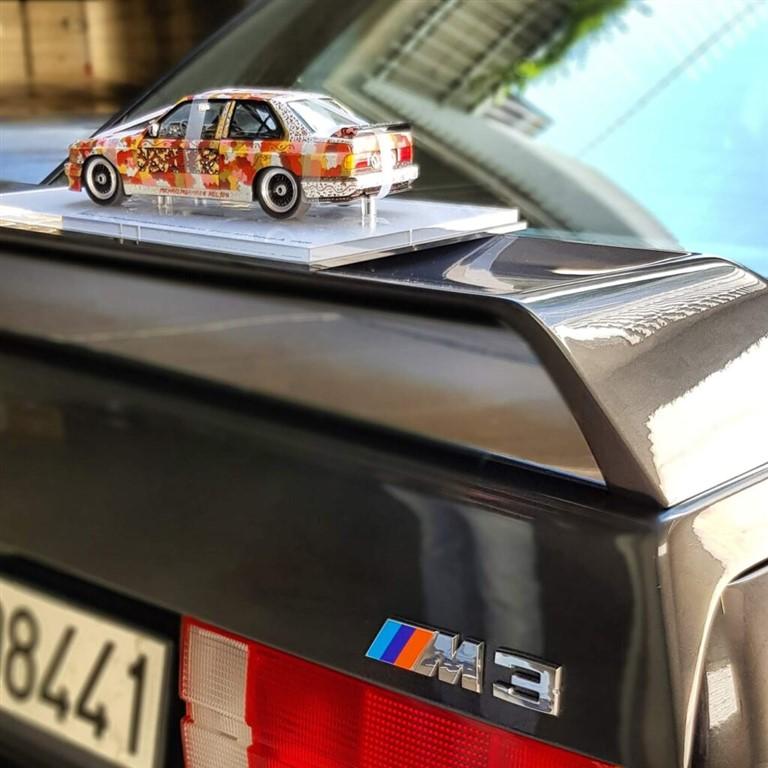 Bmw M3 E30 rear spoiler