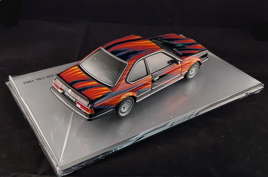 Bmw Fuchs Art Car minichamps