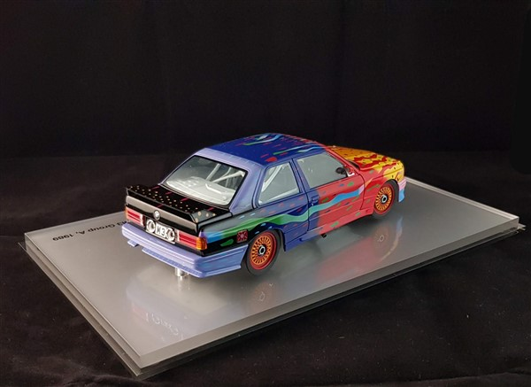 Bmw art car M3 E30 Ken Done