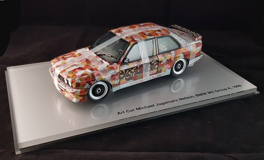 Bmw M3 art car Jagamara minichamps