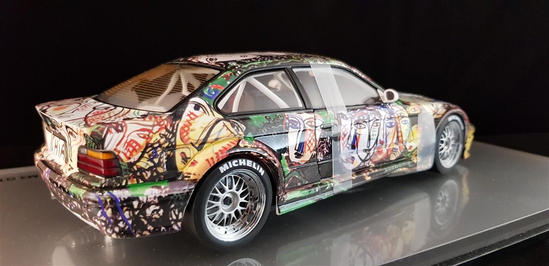 Bmw art car M3 Gtr Sandro Chia