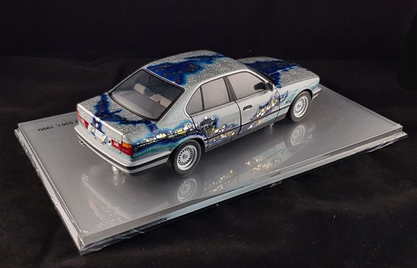 Bmw series5 diecast japan art