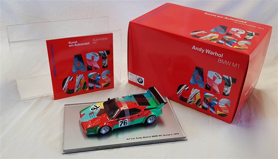 Bmw Art car museum edition set