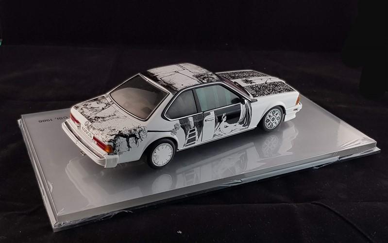 Bmw rauschenberg art car museum edition minichamps