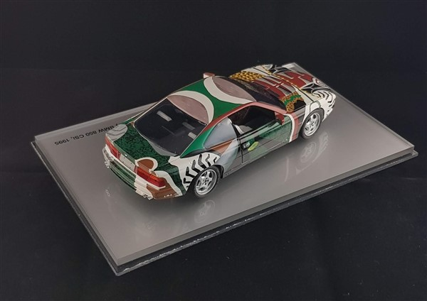 Bmw 850 diecast Hockney
