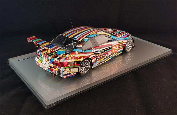 Bmw art replica Jeff Koons Art Car Kyosho