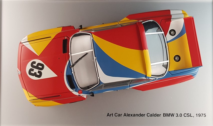 Bmw 3.0 Csl Art car ALexander Calder