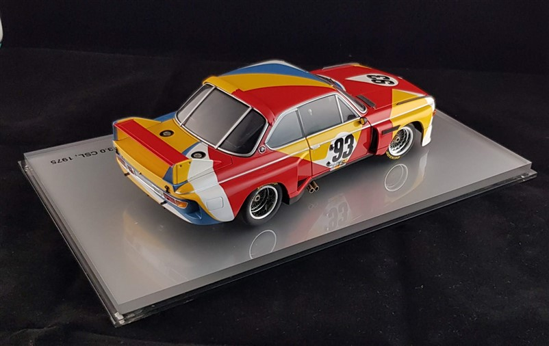 Alexander Calder Bmw Art Car dealer edition minichamps