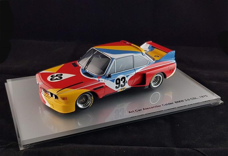 Alexander Calder Bmw art car diecast