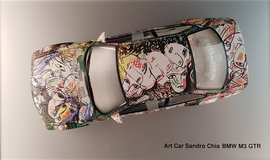 Bmw M3 art car Sandro Chia
