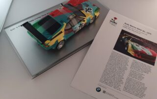 Andy Warhol Bmw M1 la Milanesiana