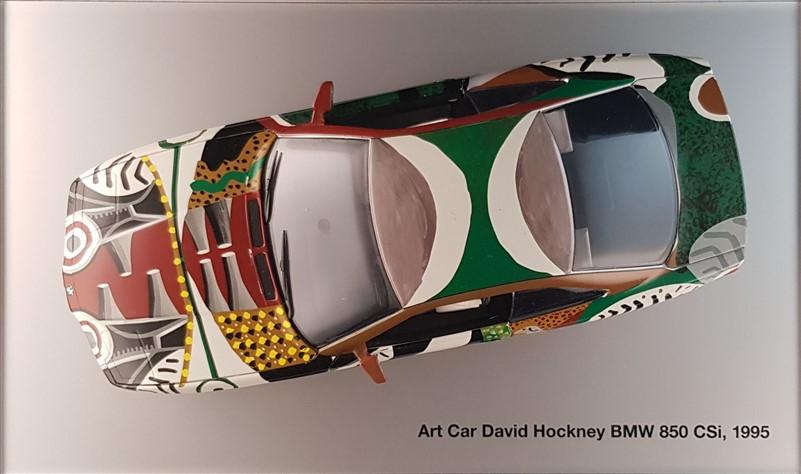 David Hockney Bmw 850 Csi artcarminiature