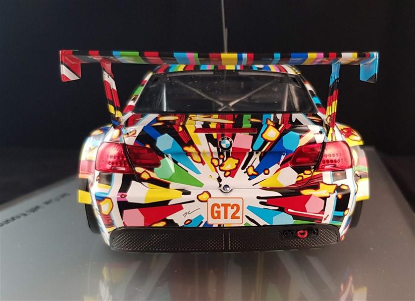 Jeff Koons art on Bmw M3 Gt2 E92