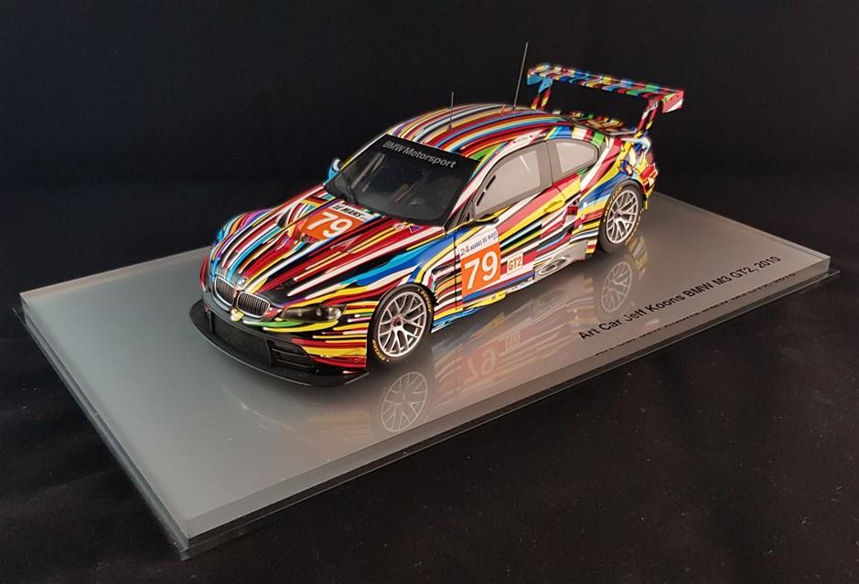 Jeff Koons Bmw Miniature in 1:18 scale