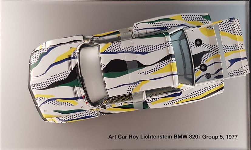 Lichtenstein artcar reproduction