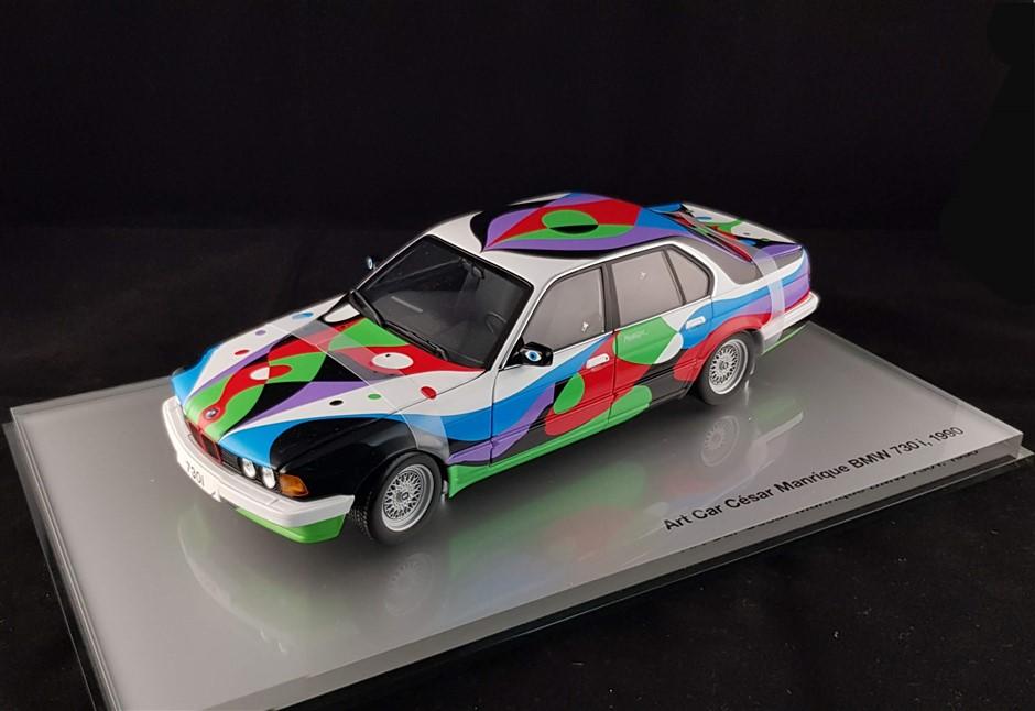 Cèsar Manrique Bmw 730i 1990 Art Car