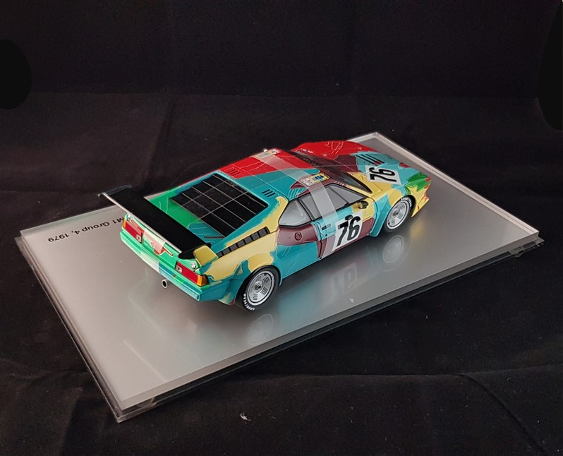 Pop art warhol Bmw Minichamps