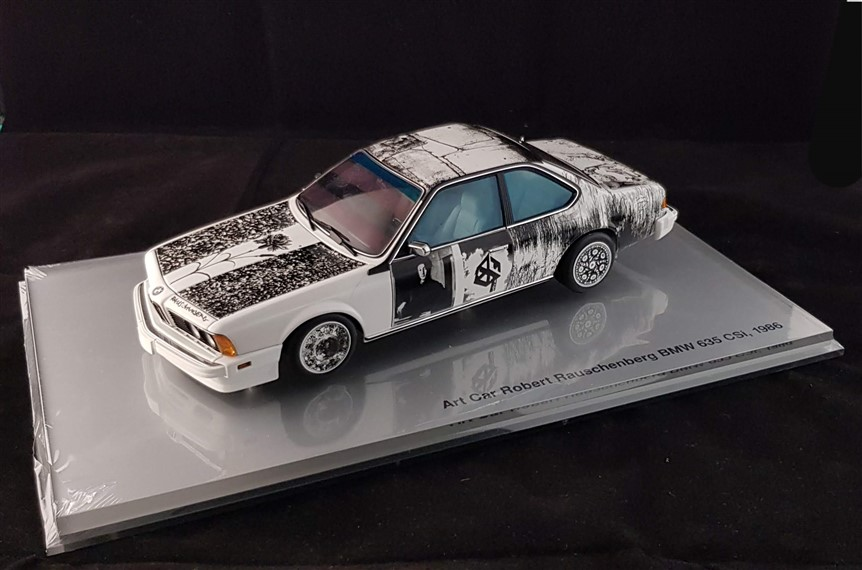Rauschenberg Bmw 635 art car