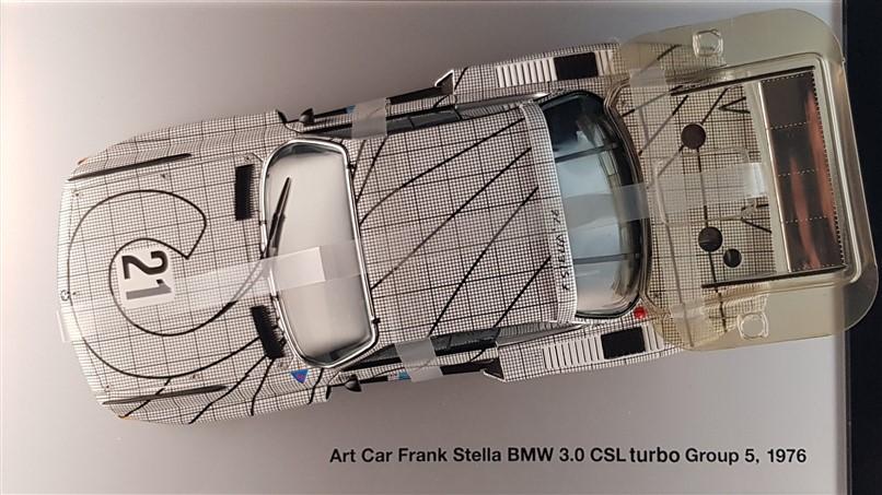 Frank Stella Bmw 3.0Csl Art Car diecast