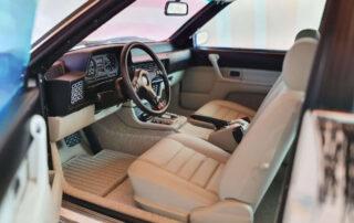 Bmw 635 diecast interior