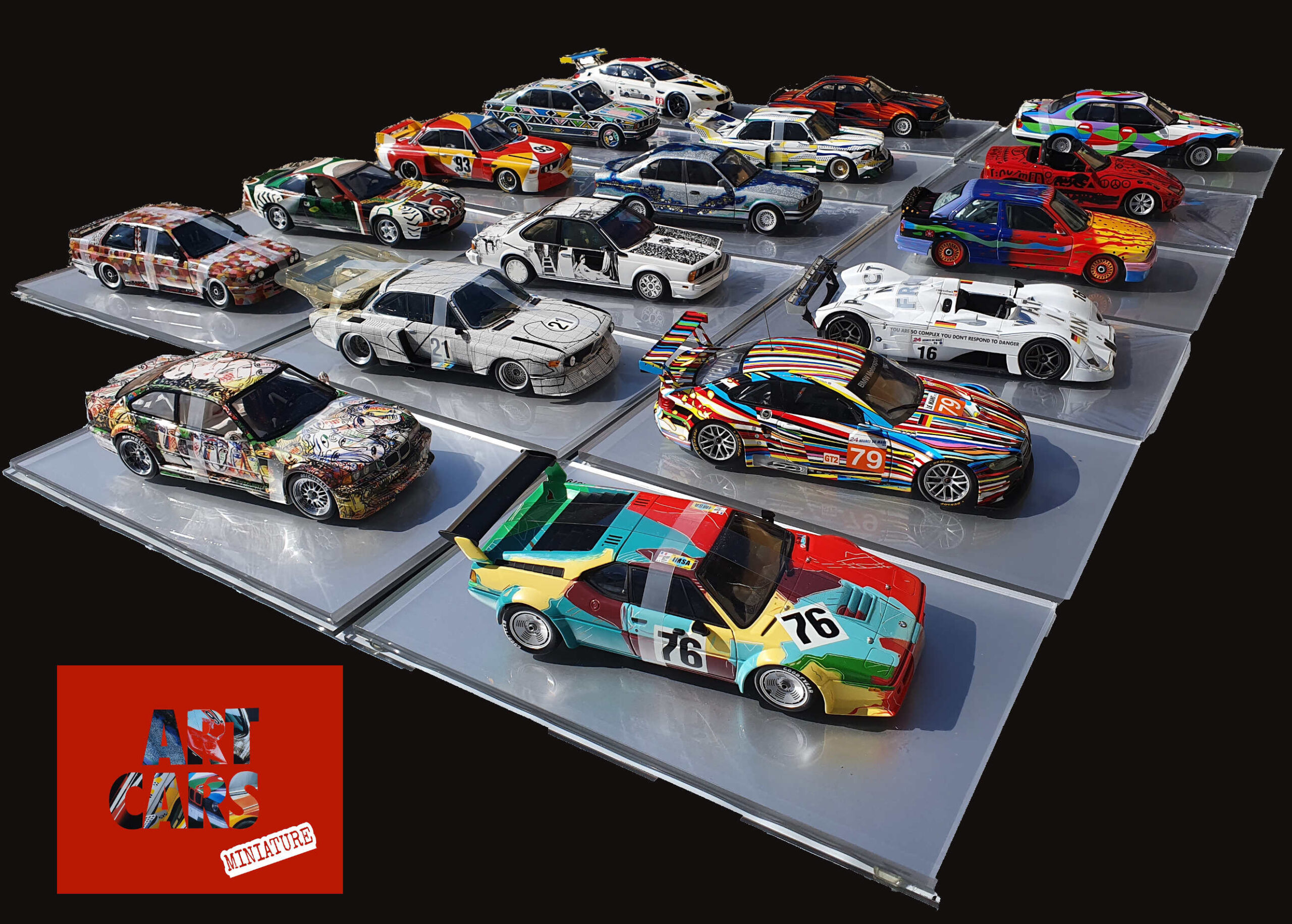 bmw art car 1:18 collection