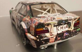 Sandro Chia signature on rear Bmw miniature