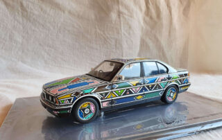 Esther Mahlangu Bmw 525i art Car