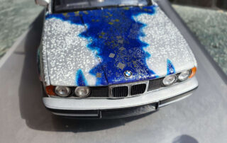 matazo kayama Bmw art car artcarminiature