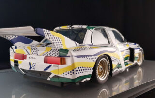 roylichtenstein pop art guru bmw artcar miniature